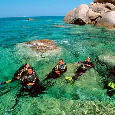 Calaserena village sardegna diving