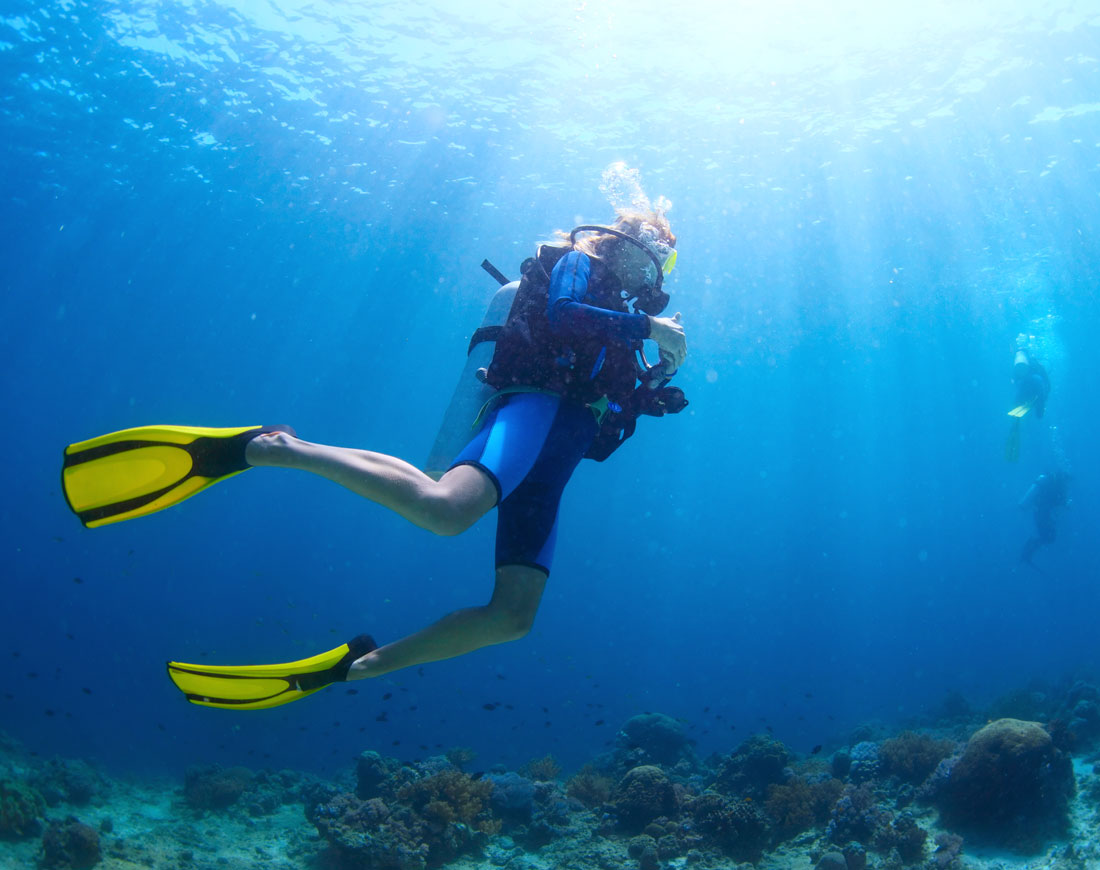 Diving immersioni villaggi turistici bluserena