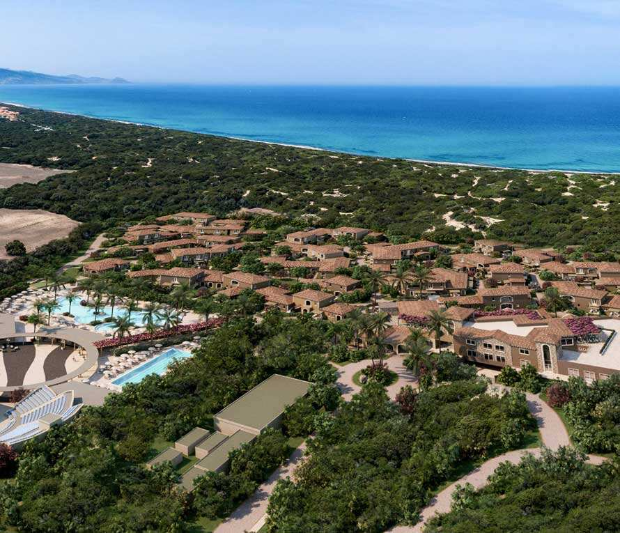 Villaggio turistico is serenas badesi village in sardegna