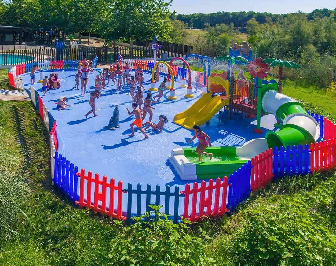 Spray park torreserena village in puglia